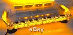12v 24v Ambre 40 Led Clignotant Lorry Beacon Stroboscope Chariot Élévateur Frontal Van Lampe