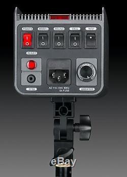 220 V Pro Nouvelle Qualité 900ws (300ws X 3) Total Studio Strobe Mono Kit Éclairage