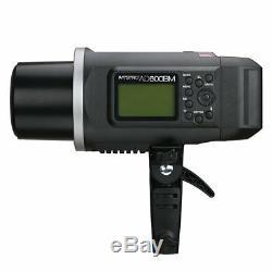 2x Godox Ad600bm 600w Hss 1 / 8000s Flash Studio Strobe + Softbox + Trigger F Sony
