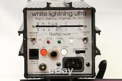 3 White Lightning Ultra 1200 Lumière Photo Kit Photographie Strobe Slaves Lighting