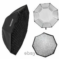 3x Godox De400ii 400w 2.4g Wireless Studio Flash Strobe Head + Trigger + Softbox