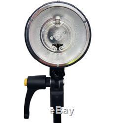 3x150w Stroboscope Photographie Kit Flash De Studio Softbox W Pro Backdrop