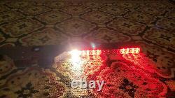40.5 Red Led Traffic Fire Avertissement D'urgence Flash Strobe Interior Light Bar