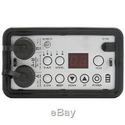400ws Voyageurs 2-head Portable Stroboscope Système De Batterie Kit Pour La Photographie