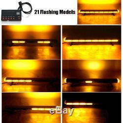 41 Lampe Clignotant D'urgence Beacon Bar 210w Led Orange Voiture Avertissement Lumière Stroboscopique