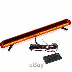 51 '' 96 Led D'urgence Clignotant Lampe Bar Beacon Ambre Car Strobe Gyrophares