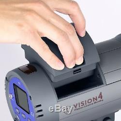 600w Alimenté Par Batterie Extérieure Studio Stroboscope Kit D'éclairage, Vidéo Photographie