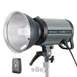 600w Gn82 Flash Studio Stroboscope Monolight Avec 2.4g Sans Fil Trigger