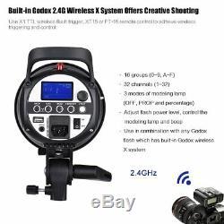 600w Godox Sk300ii 300w 2.4g Flash Studio Strobe Light Head + Xpro Trigger F Nikon