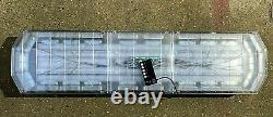 88 Led Amber Emergency Recovery Warning Strobe Flashing Light Beacon Bar 120cm