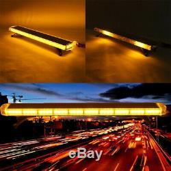 88 Led Orange Stroboscope Barre D'urgence Gyrophare Clignotant Commande D'une Lampe