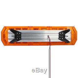 88led Ambre Attention Strobe Lumière Clignotante Récupération Magnétique Beacon 21modes Royaume-uni