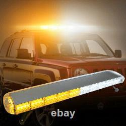 88led Emergency Roof Light Bar Amber Strobe Lights Beacon Top Response Truck 48