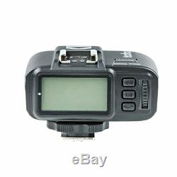900w Uk 3x Godox Sk300ii Studio Strobe Flash Light Head + Trigger + Softbox F Canon