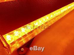 975mm 3872w Led Wor Light Bar Top Récupération Gyrophare Stroboscope Jaune