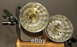 Balcar Monobloc 3 Stroboscopique, Flash Supplémentaire, Réflecteurs, Ampoules Supplémentaires, Boîtier