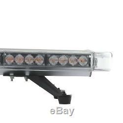 Bar Lampe Clignotant D'urgence Beacon 51 ' ' 96 Led Orange Voiture Avertissement Lumière Stroboscopique