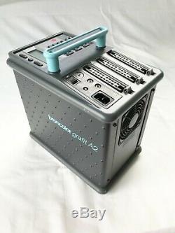 Broncolor Grafit A2 Studio Power Pack Strobe Flash Super Propre Avec Câbles De Synchro