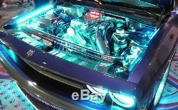 Bundle 10 Sets Led Rgb Multi-color Engine Bay Ou Kit Voiture D'éclairage Sous Withremote