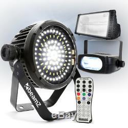 Choix Beamz Led Strobe Éclairage Effet Dj Disco Party DMX Par Puissance Flash Light