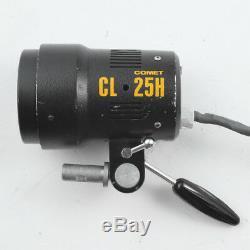 Comet Cb-1200a 1200w + Asymétrie Cl-25h Flash Strobe Generateur Electrique Kit Pack