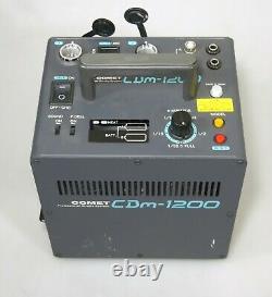 Comet Cbm-1200 Léger 1200w Deuxième Batterie Actionnée Flash Strobe Power Pack