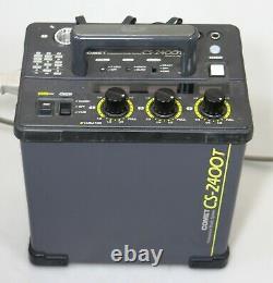 Comet Cs-2400t 2400w Deuxième Flash Asymétrique Flash Strobe Power Pack