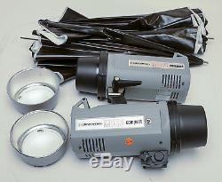 Elinchrom Micro Compact Set Strobe 2, Grandes Lumières Qualité, Très Faible Utilisation