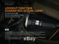 Fenix lr40r 12000 Lumen Usb Lampe De Poche Rechargeable Avec Batterie De Cas