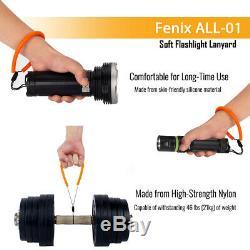 Fenix tk72r 9000 Lumen Recherche Lampe De Poche Rechargeable Powerbank & Fenix longe