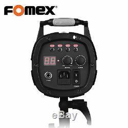 Fomex E400 Strobe Flash Studio Lampe 400w 5,500k Led 220 V Seulement