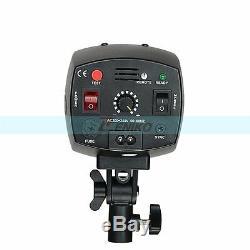 Godox 2x 150w Studio Stroboscope Flash Kit + Trigger Softbox Modeling Lamp Set