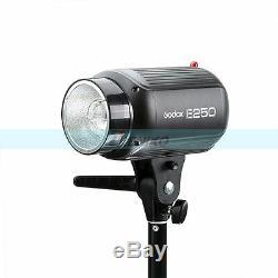 Godox 500w (2x250w) E250 Photo Studio Strobe Flash Light + Softbox + Trigger Kit