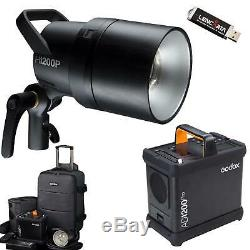 Godox Ad1200 Studio Pro Strobe Power Pack Kit
