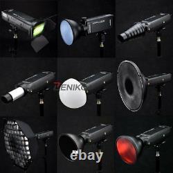 Godox Ad200 2.4g Hss Ttl Flash Réflecteur Standard Ad-s2+s11 +bd-07 Trousse De Porte D'étable