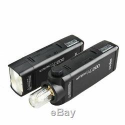 Godox Ad200 200w 2.4g Ttl Stroboscope 1 / 8000s Hss Pocket Flash Monolight Lumière