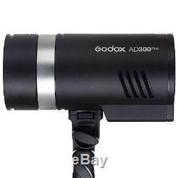 Godox Ad300 Pro Studio Strobe Light Avec Xpro-f
