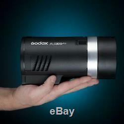 Godox Ad300pro 300w 2.4g Ttl Stroboscope Monolight 1/8000 Hss + Usb