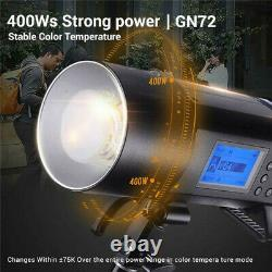 Godox Ad400pro Extérieur Flash Light Photo Studio Camera Strobe 400w Ttl Speedlite