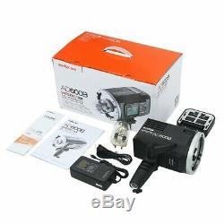 Godox Ad600b Ttl 2.4g Hss Bowens Stroboscope Outdoor Flash Light + Cb-09 Cas