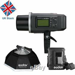 Godox Ad600bm Ad600 600w Hss 1 / 8000s Flash Studio Strobe Bowens Mont Extérieur