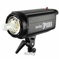 Godox Dp1000ii 1000w 2.4g Photo Studio Strobe Flash Light Head For Dslr Camera