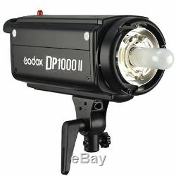 Godox Dp1000ii 1000w 2.4g Photo Studio Strobe Flash Light Head Pour Appareil Photo Reflex Numérique