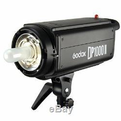 Godox Dp1000ii 1000w 2.4g Photo Studio Strobe Flash Light Head Pour Caméra 220 V
