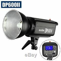 Godox Dp600ii 600w 5500k Studio Strobe Flash Light 150w Lampe Tête F Photographie