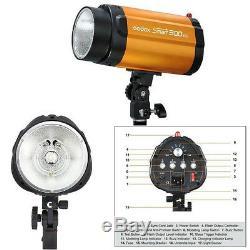 Godox Intelligent 300 Sdi Pro Photographie Strobe Flash Light + Capteur Esclave Photo 300w