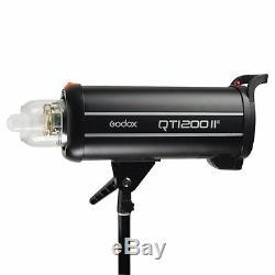 Godox Qt-1200iim 1200w 2.4g Haute Vitesse Puissant Studio Strobe Flash Light Head