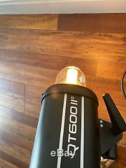 Godox Qt-600iim 600ws 2.4g Gn76 1 / 8000s Sync Haute Vitesse Flash Stroboscopique