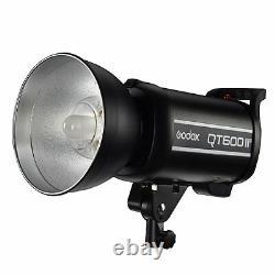 Godox Qt600iim 600w 2.4g Hss Studio Strobe Flash Lights+x1t-n Émetteurs