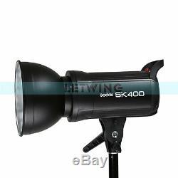 Godox Sk-400 400w Photographie Clignotements Strobe Éclairage De Studio Ampoule Lampe Frontale 220 V
